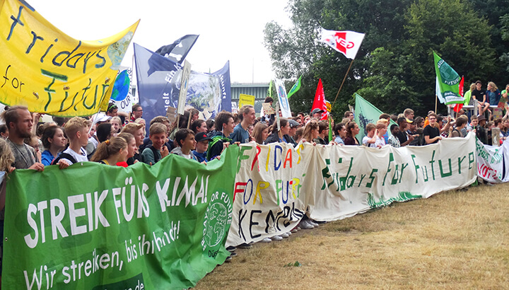 Start in die Sommerferien mit Fridays for Future